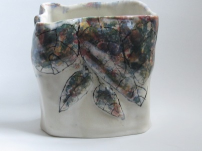 wes-66-bud-vase-rocks-and-flowers-rectangular-slip-cast-4-x-2-25-x-5-wsm-and-underglazes