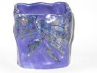 wes-67-bud-vase-rocks-and-flowers-rectangular-slip-cast-4-x-2-25-x-5-lapis-blue-with-underglazes